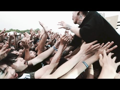 """ROACH """"No Reason in the Pit"""" HEARTOWN ROCK FEST 2018 in Taichung"""