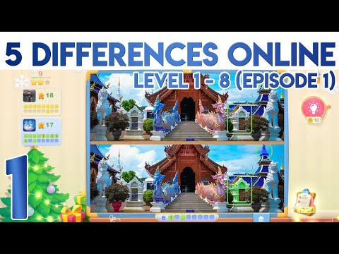 5 Differences Online Level 1 2 3 4 5 6 7 8 [Episode 1]