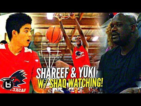 Shareef O'Neal & Yuuki Okubo DON'T BACK DOWN w/ Shaq Watching!! Crossroads vs Damien Full Highlights
