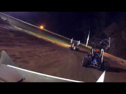 Susquehanna speedway park candybowl  600cc micro sprint feature 10-31-15