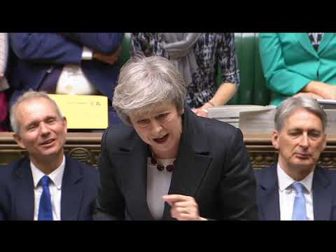 Prime Minister's Questions: 21 November 2018