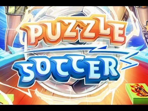 PUZZLE SOCCER - iOS / Android Gameplay Trailer