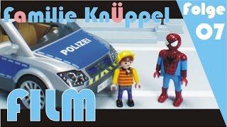 Spiderman und das Gefängnis Playmobil Film deutsch / Kinderfilm / Kinderserie Polizei
