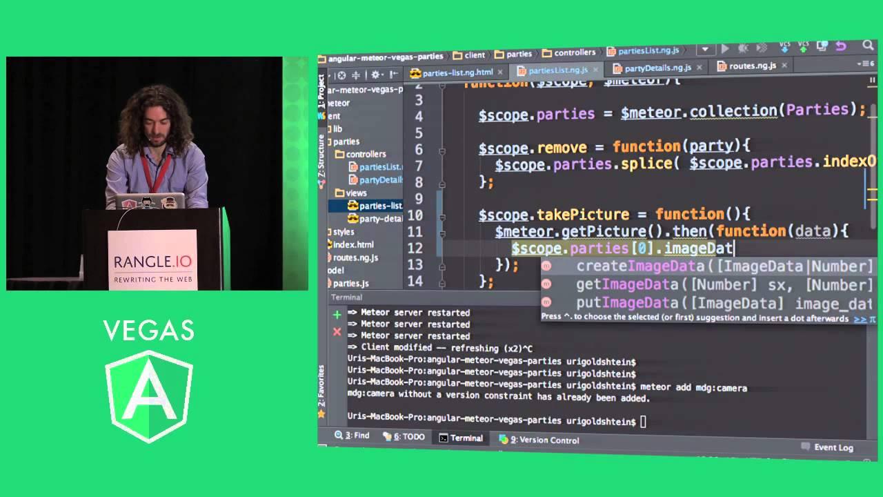 Angular-Meteor - realtime full stack JavaScript development