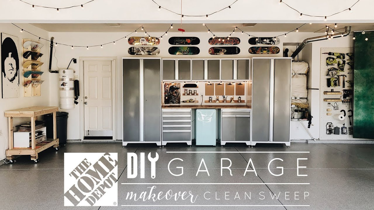 Make Over Diy Garage Makeover
