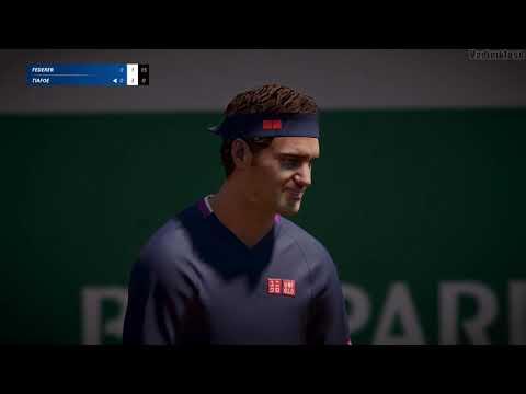 Tennis World Tour 2 GamePlay PC |