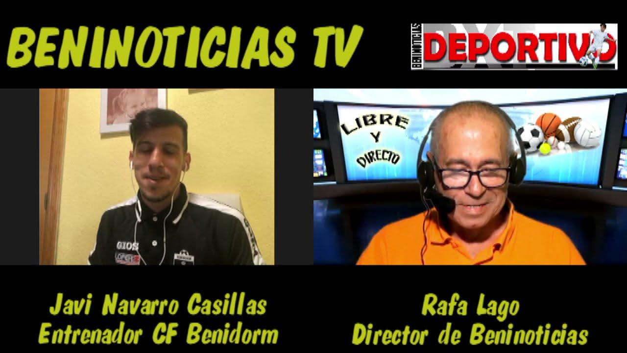Vídeo entrevista con Javi Navarro Casillas, entrenador del Alevín del CF Benidorm
