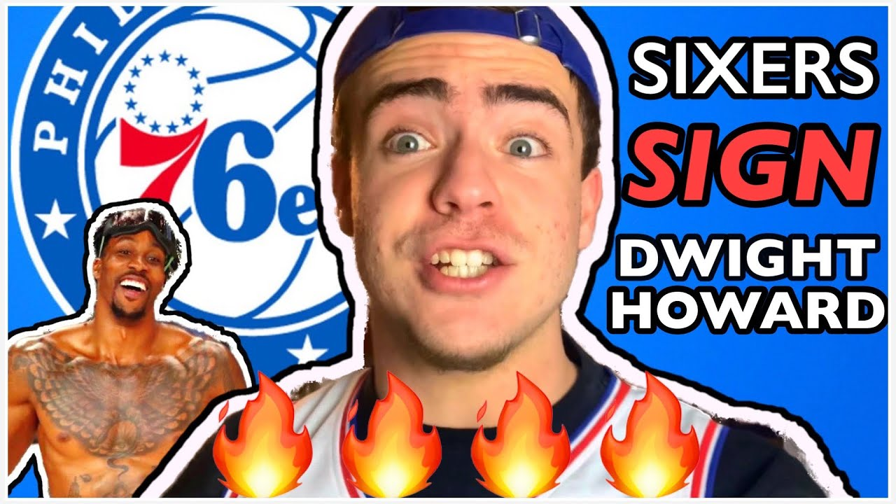 PHILADELPHIA SIXERS SIGN DWIGHT HOWARD TO A 1-YEAR DEAL!!!! NEW BACKUP CENTER!!! (REACTION)