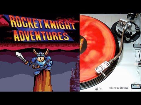 Rocket Knight Adventures Vinyl Lp Face A Ship To Shore