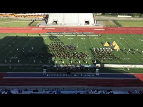 Wylie East High School Band Little Elm Contest 2018
