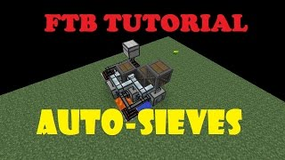 Agrarian Skies 2 Tutorial -  Super Compact Auto Sieves!! 60FPS