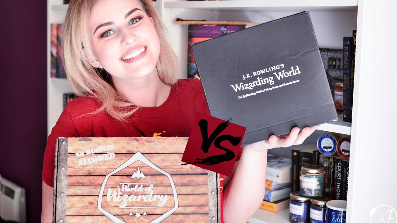 Harry Potter Book Unboxing : Ultimate harry potter unboxing loot crate vs geek gear