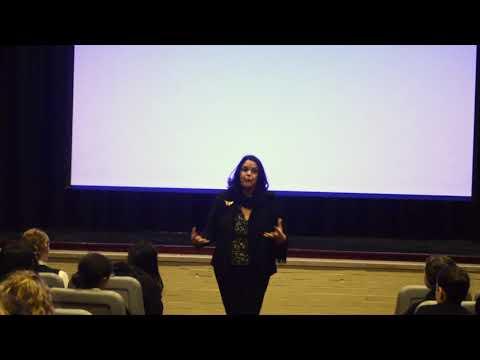 """A Butterfly's Daughter Speaks""   Minou Mirabal Tavarez at Oakland Catholic High School, 3/8/19"