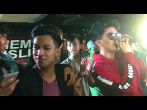 Qiemilio Tour Haqiem Rusli ft. Ismail Izzani & Friends- Ending Freestyle