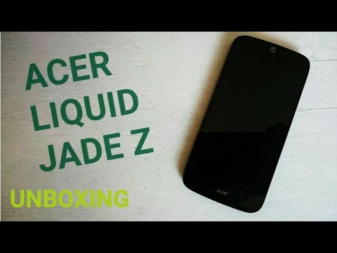 Unboxing Acer Liquid Jade Z - ITA HD