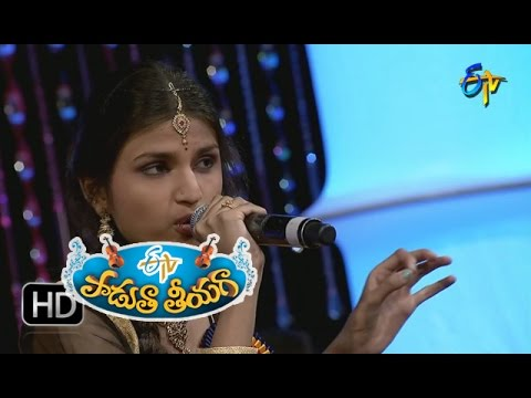 Kannayya Nallani Kannayya Song - Akhila Performance in ETV Padutha Theeyaga - 25th July 2016