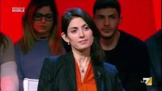 Virginia Raggi a Bersaglio mobile 3/2/2017 (INTEGRALE)