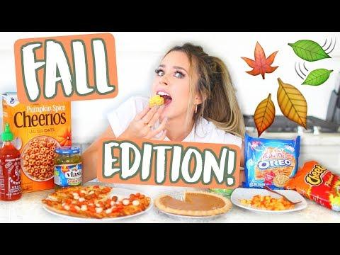 WEIRD FOOD COMBINATIONS! FALL EDITION!