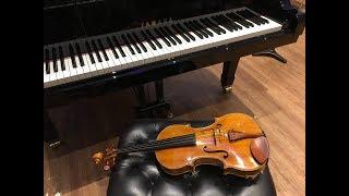 べートーベン・メヌエット変ホ長調|ヴィオラ&ピアノ|L v Beethoven Menuet in G major