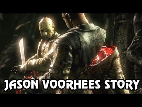 Let's Play Mortal Kombat X Deutsch #18 - Jason Voorhees Story Fatality X-Ray