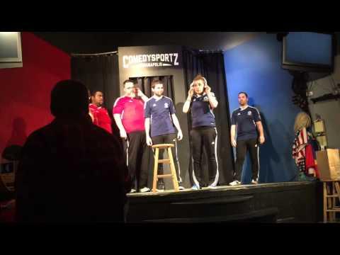 Good Peformance at ComedySportz Indianapolis