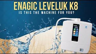 Curatarea aparatului K8 de la Enagic l Kangen Water