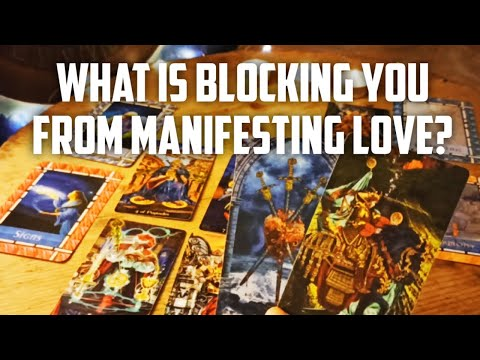 WHAT IS BLOCKING YOU FROM MANIFESTING LOVE IN YOUR LIFE? 🥰 - Pick A Card Tarot Reading
