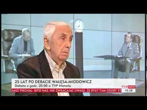 Alfred Miodowicz 25 lat po debacie WasaMiodowicz Wspomina Andrzej Bober TVP Info