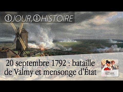 20 septembre 1792 : bataille de Valmy ou la victoire d'un mensonge d'État