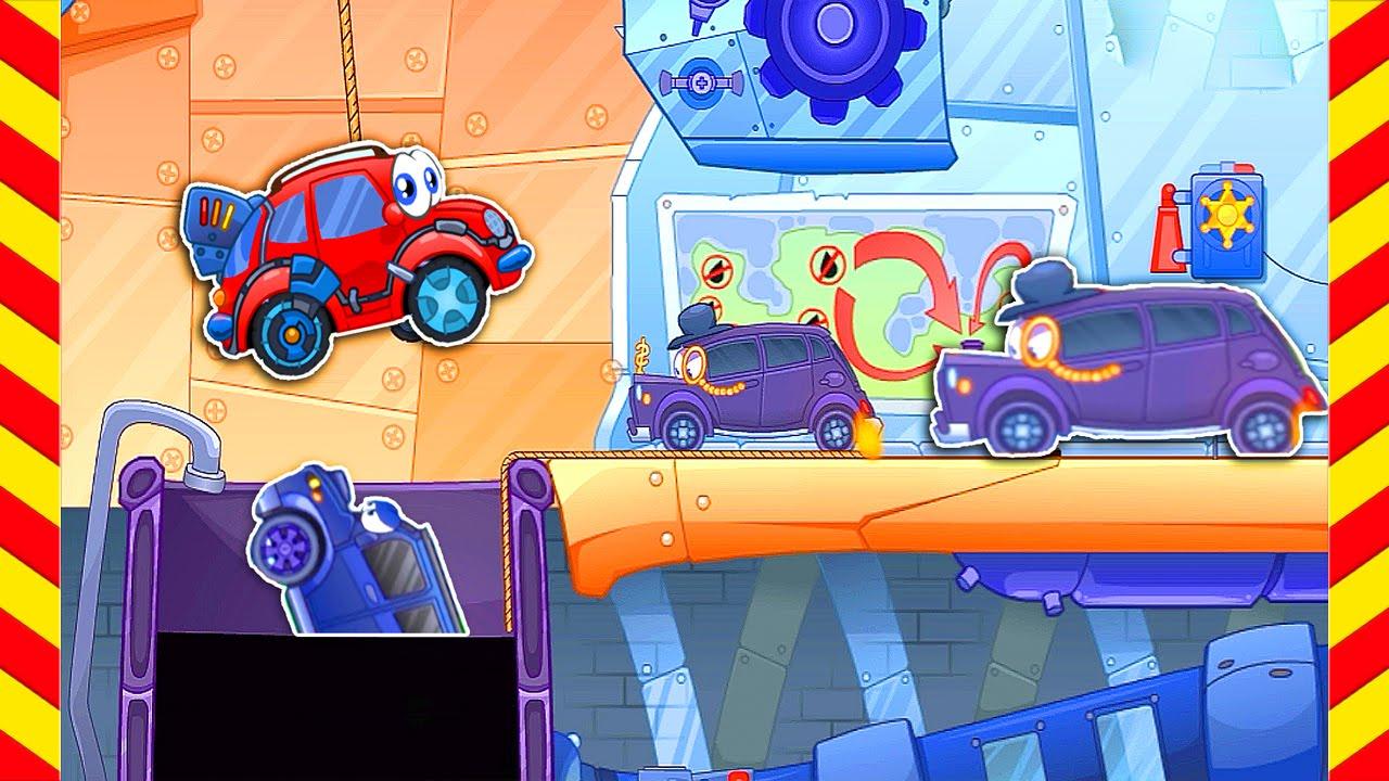 Мультик игра - Вилли машина и грузовики злодеи. Интересные ...