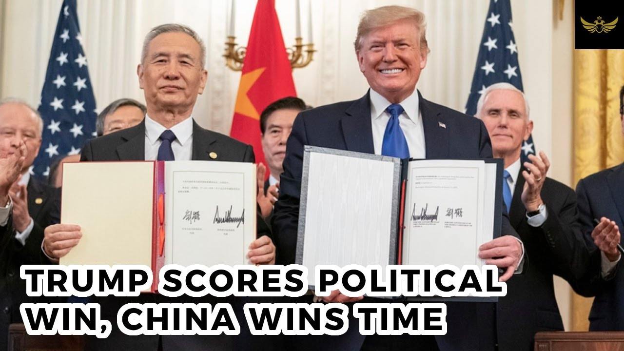 US-China phase one trade deal. Trump scores political win, China wins time