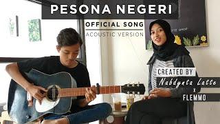 PESONA NEGERI - NABDYNTA LATTE x FLEMMO (Official Song - Acoustic Jazz) - Lagu Bumi Lingkungan Hidup