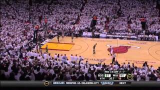 LeBron James 10-0 run vs Boston Celtics Game 5