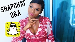 SNAPCHAT Q&A! | BABY NAMES, CAREER & YOUTUBE, FAVOURITE BLOGGERS & MORE | PATRICIA BRIGHT
