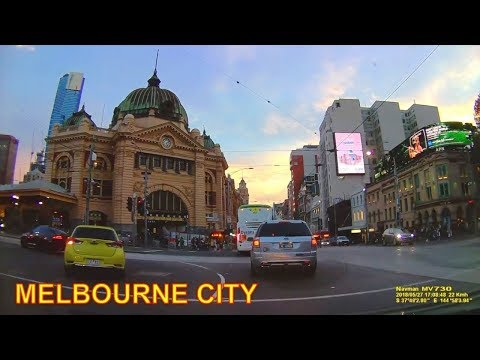 MELBOURNE CITY CENTER - VICTORIA AUSTRALIA