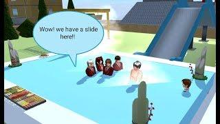 New Hotspring at the Park Tutorial Sakura School Simulator