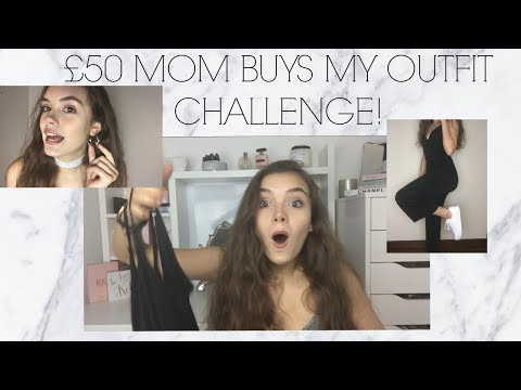 MOM BUYS MY OUTFIT CHALLENGE!!! | India Grace