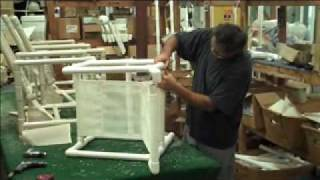 Cushion & Pipe Furniture Factory Tour