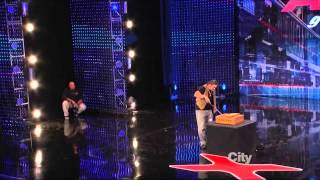 America's Got Talent 2013  Week 1 Auditions - David 'The Cobra Kid' Weathers.