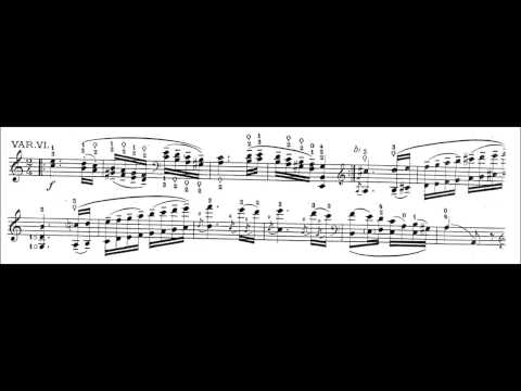 Silva-Paganini: Caprice, Op. 1 No. 24 (for Cello) (with Sheet Music)