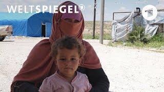 Deutsche IS-Frauen in Syrien | Weltspiegel