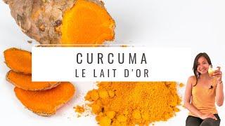 Le Curcuma et sa recette du Lait d'OR