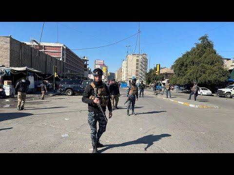 قتلى وجرحى في تفجيرين انتحاريين وسط العاصمة العراقية بغداد  - نشر قبل 4 ساعة