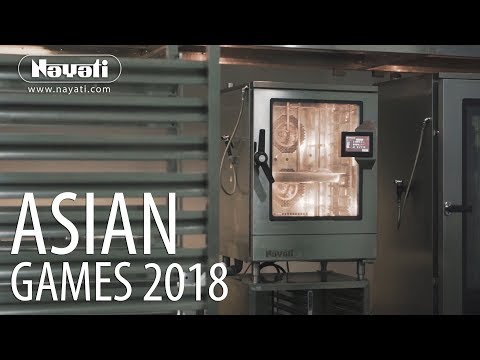 Catering Equipment Rental : Luxury Dining Hall for Asian Games 2018
