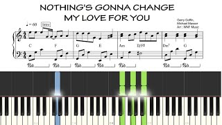 (EASY) Nothing's Gonna Change My Love For You | Piano Accompaniment Tutorial