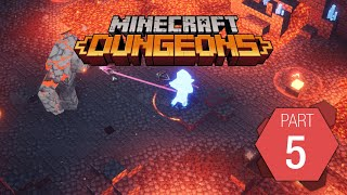 """Minecraft Dungeons: Playthrough Part 5 of 9 """"Redstone Mines"""""""