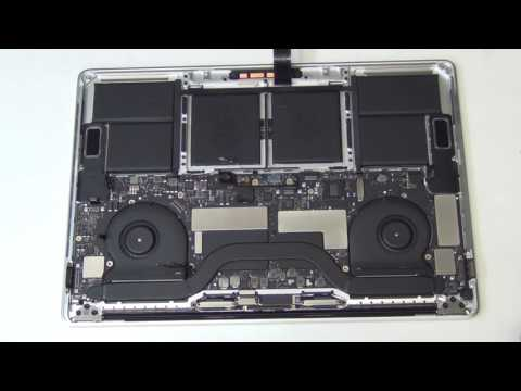 """How to Take Apart the 2016 15"""" Macbook Pro with Touchbar A1707"""