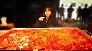 인생맛집) 영주에서 제일 유명하다는 랜떡 먹방