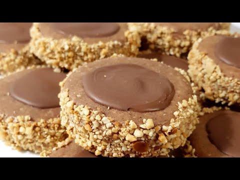 gâteau-secs:-les-russes-à-la-crème-au-beurre-et-cacahuètes-recette-facile-/-حلوة-ليروس-بكريمة-الزبدة