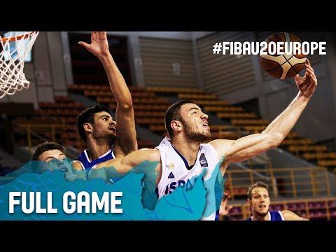Israel v Italy - Full Game - Round of 16 - FIBA U20 European Championship 2017